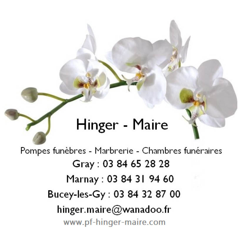 Pompes Funèbres Hinger Maire
